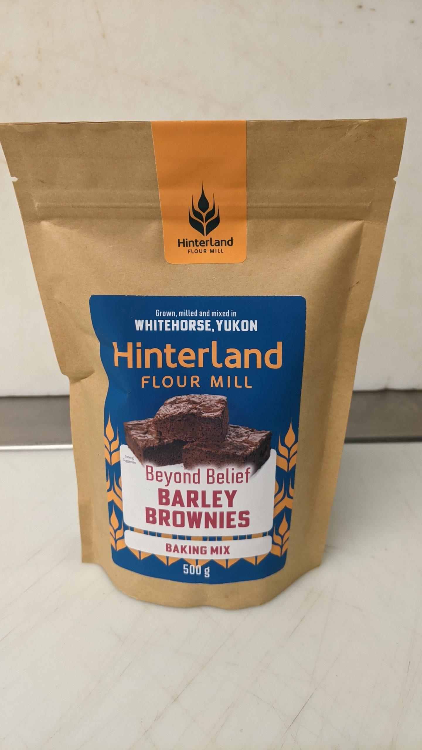 Barley Brownie Mix